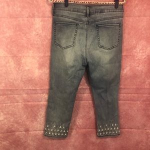 NYDJ Jeans - NYDJ 14P Embroidered Sheri Ankle Jean